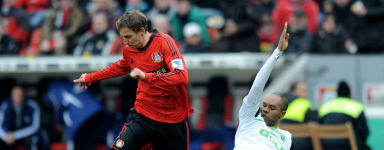 Bayer Leverkusen empató 1-1 ante Wolfsburgo y se afianza como tercero general, con posibilidades para estar en la Champions League.