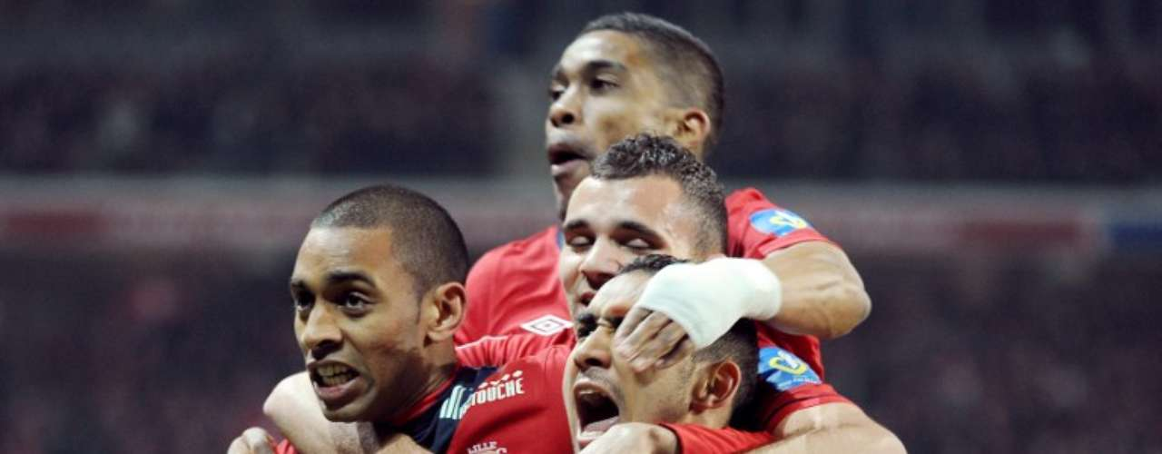 Lille goleó 5-0 a Lorient.
