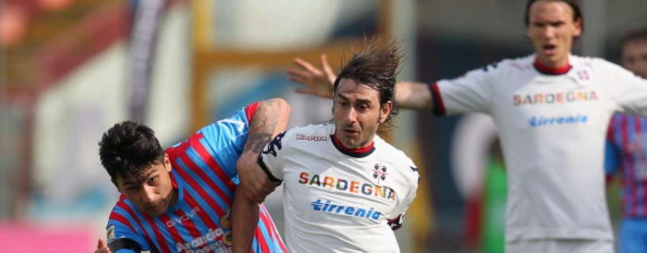 Catania y Cagliari no se hicieron daño (0-0).