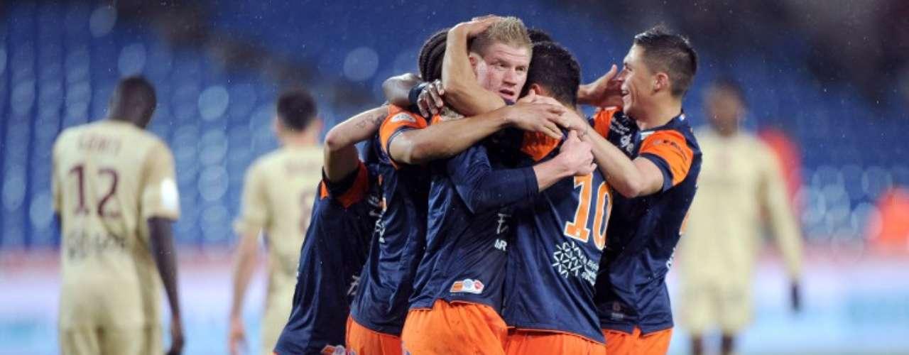 Montpellier 3-1 Valenciennes.
