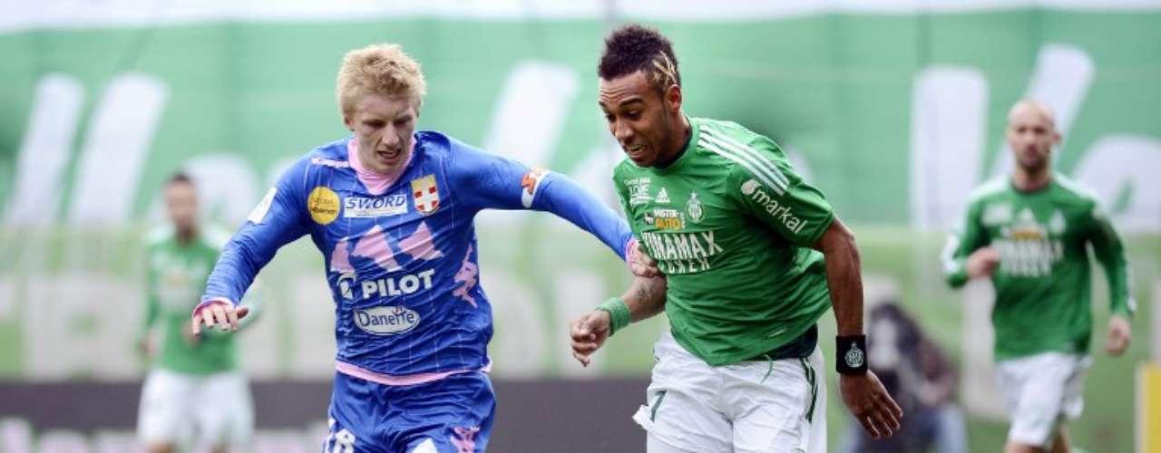 Saint-Etienne ganó 1-0 y ya es tercer lugar.