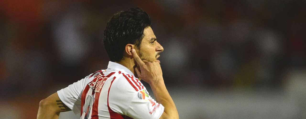 Delantero - Rafael Márquez - Chivas. Pese a la derrota fue el mejor delantero de la semana al hacer dos goles ante Jaguares