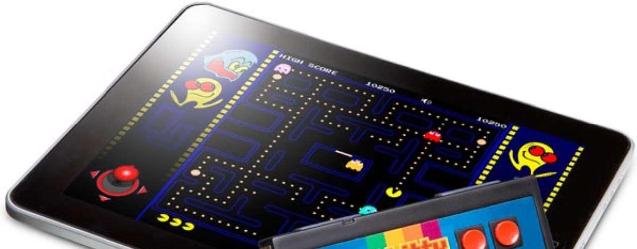 iCade 8-bitty, un gadget con forma de mando clásico de NES con bluetooth para jugar con el iPad. Precio: 19 euros