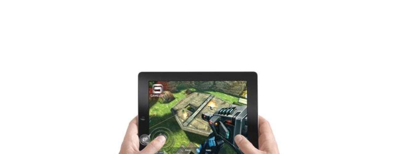 Jostick Game, un jostick analógico 'retro-geek' con ventosas para adherirse fácilmente el marco del iPad. Precio: 15 euros