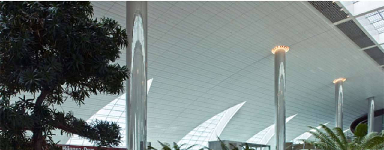 Cuenta con más de ¡6 mil vuelos semanales! y la presencia de 130 aerolíneas.