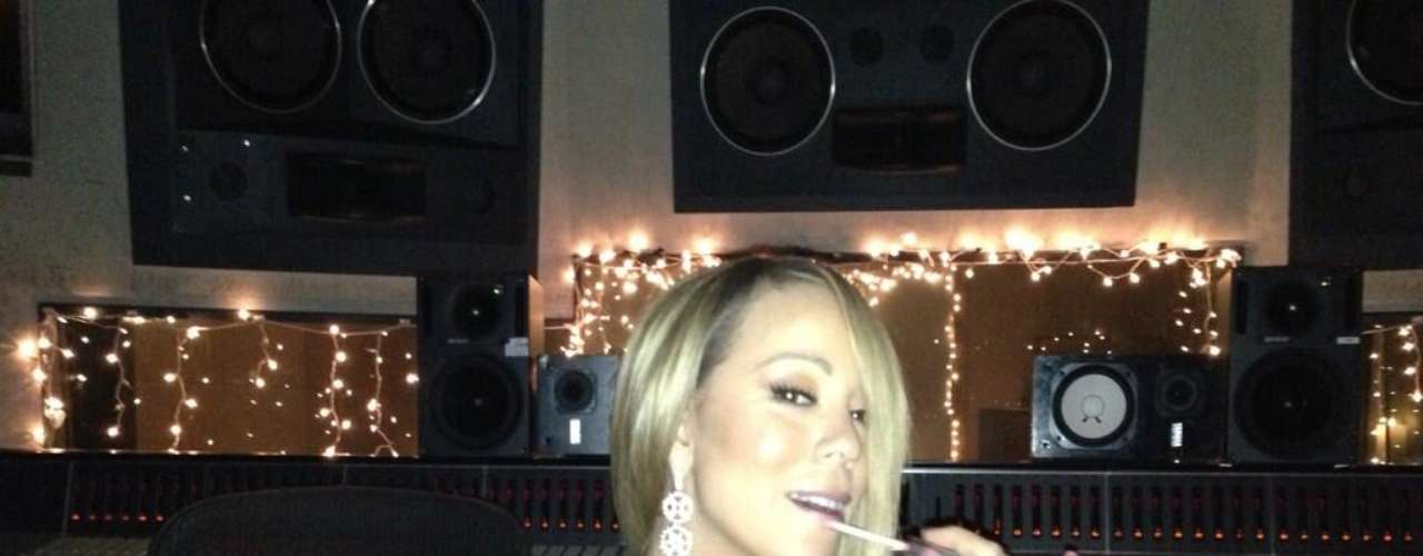 @MariahCarey: Yes, it's almost ready!!