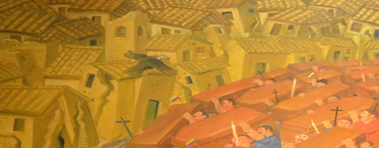 Donadas por el propio artista al Museo Nacional de Colombia, estas piezas se han convertido en símbolos del arte latinoamericano contemporáneo, no sólo por la particularidad y la calidad del trabajo de Botero, sino también por el testimonio histórico del momento que vivía y vive la región.
