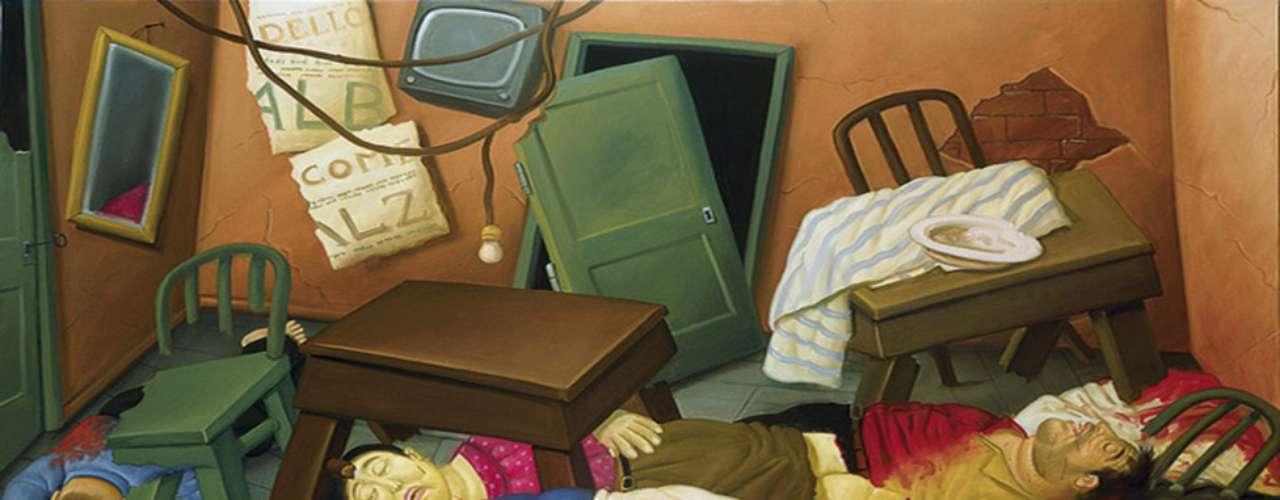 El impactante trabajo de color, la crudeza del momento que captura y la tendencia característica de Botero por el volumen le han dado el reconocimiento por parte de una gran cantidad de críticos y el público en general como uno de los artista latinoamericanos más importantes de las últimas décadas.