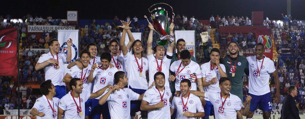 Cruz Azul ended its 15-year title drought after winning the Copa MX.