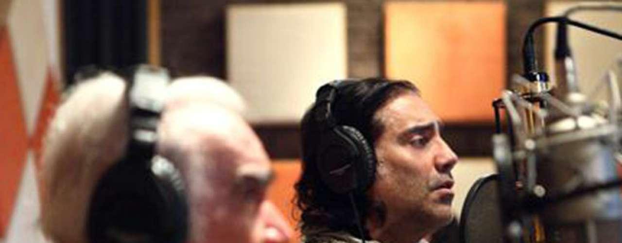 Alejandro Fernández grabó un dueto con su padre, Vicente Fernández en una tarde memorable, que tuvo lugar en el estudio de grabación del Rancho Los Tres Potrillos, para deleite de todos sus seguidores. La canción puede considerarse como histórica, ya que desde 1992 Alejandro no unía su voz a la de \