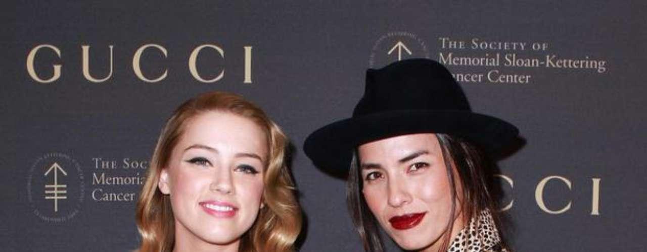 Amber Heard y Tasya Van Ree también fueron pareja. La historia después ya la conocemos. Cuando Johnny Depp anunció su separación de Vanessa Paradis, Amber fue la nueva novia del actor.