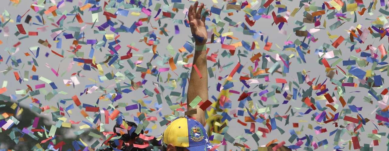 Caprilesfustigó a Maduro señalando: \