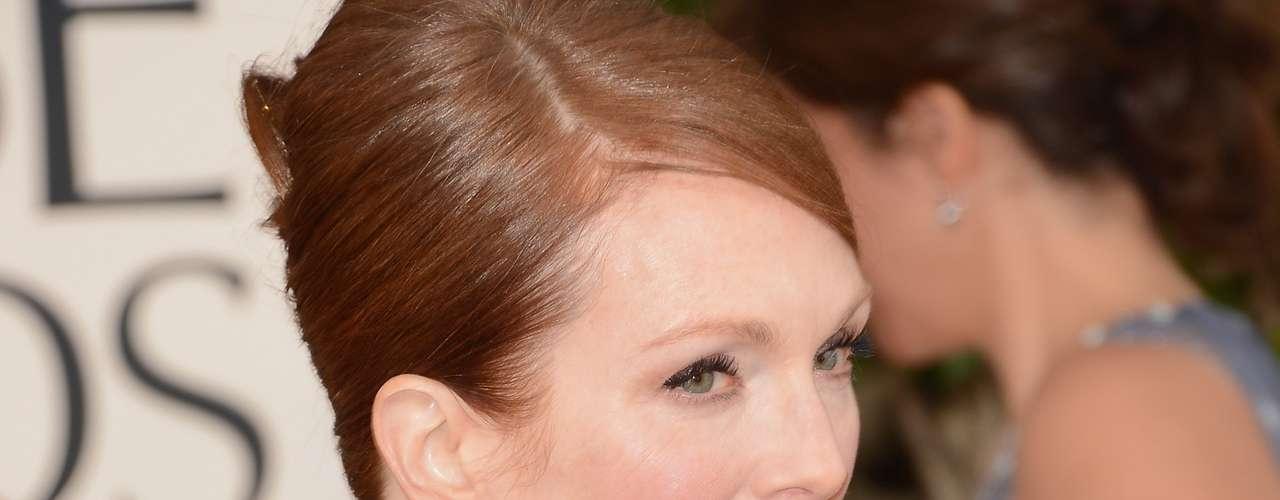 Julianne Moore le dio una hermanita, Liv, a su primer hijo Caleb en 2002. La actriz de 'Hannibal' y 'El Mundo Perdido: Jurassic Park' ya tenía 41 años cuando la pequeña nació.
