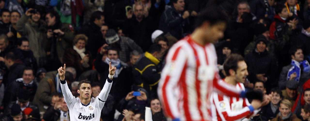 El Atlético de Madrid ya ha sido víctima de las faltas directasdel portugués.