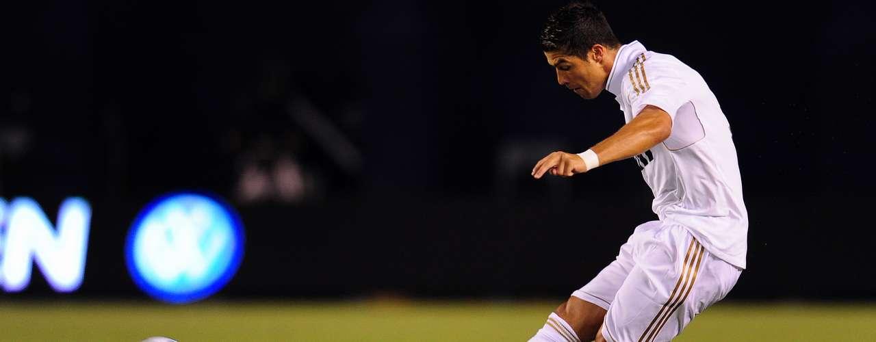 Además, Cristiano es el mejor anotador por falta directa en la presente Liga con tres dianas.