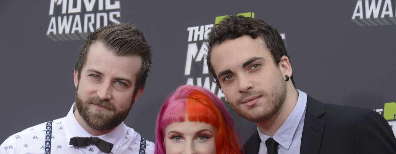 Los chicos de Paramore llenarán de rock la premiación