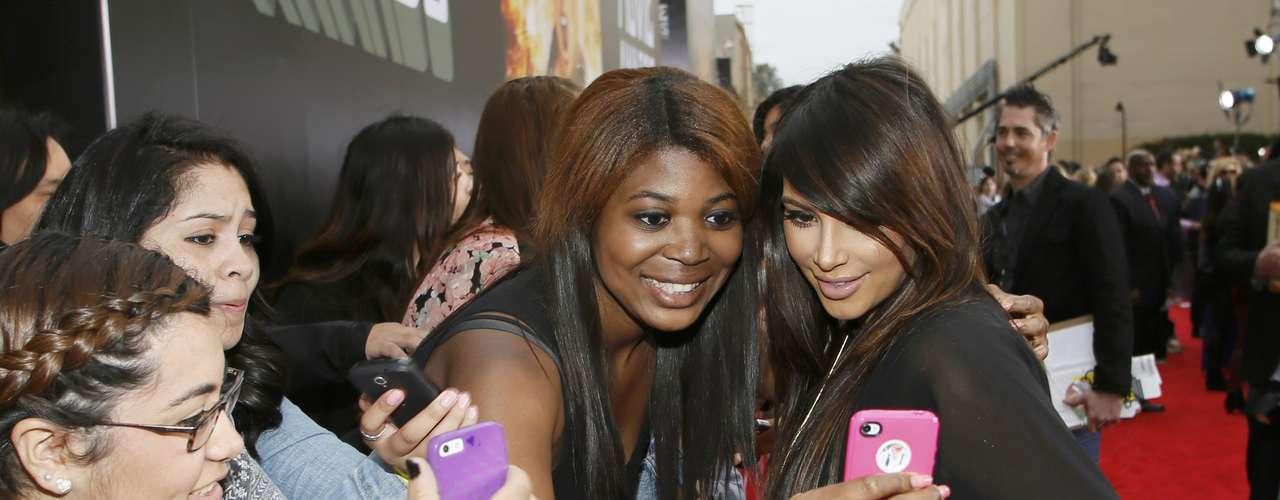Kim Kardashian no pierde la humildad y siempre es agradecida con sus fans