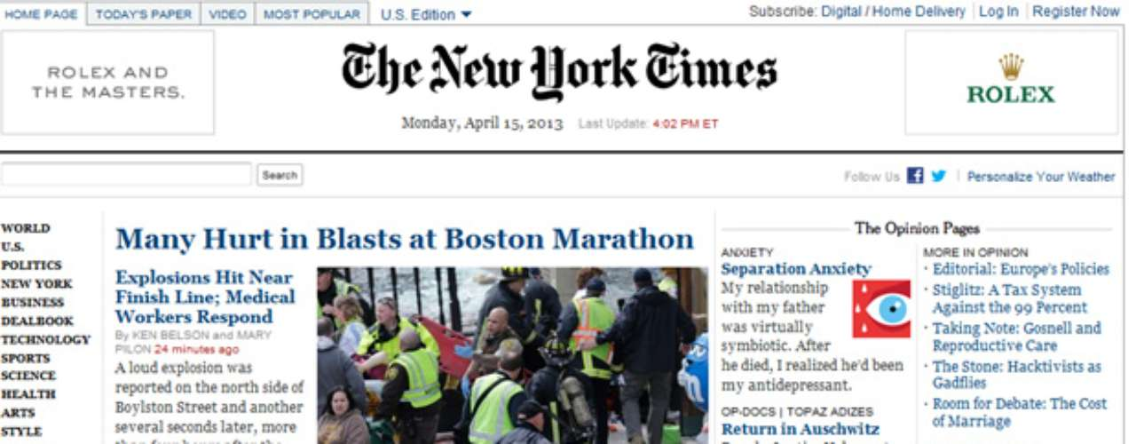 The New York Times publica la noticia