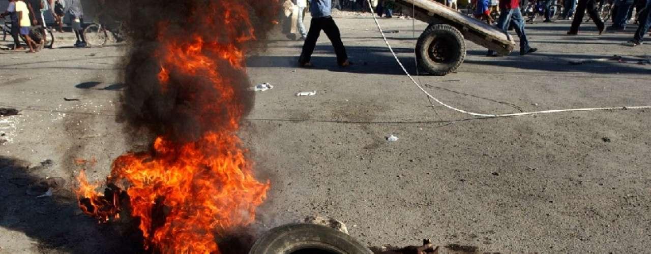 Haití, agitación política. 2004.