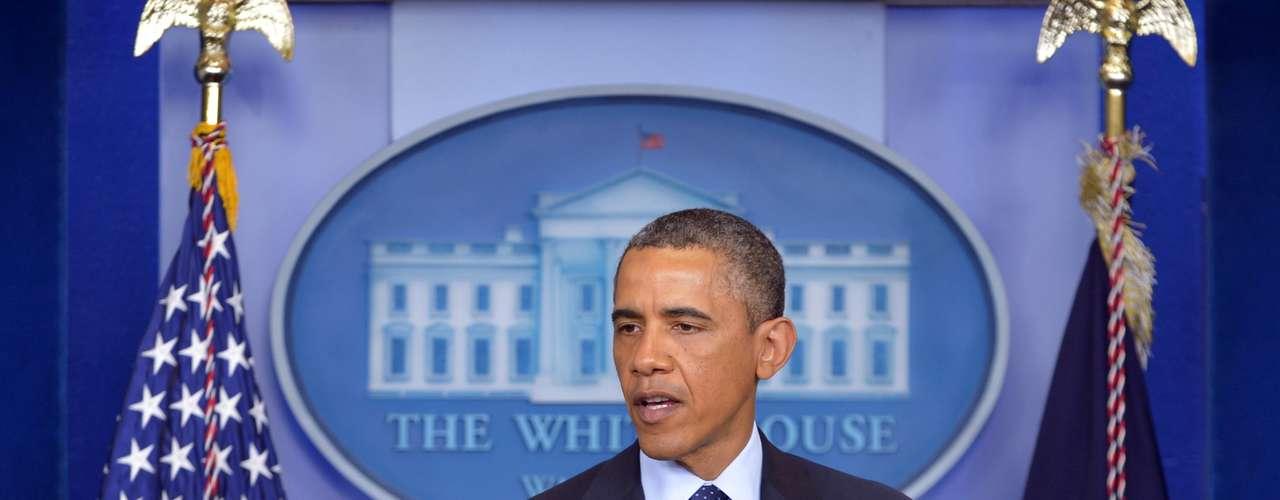 Un par de horas después de los atentados en Boston, el presidente Barack Obama le habló al país. 'Vamos a dar con los responsables de estos ataques y recibirán todo el peso de la ley', dijo el mandatario.