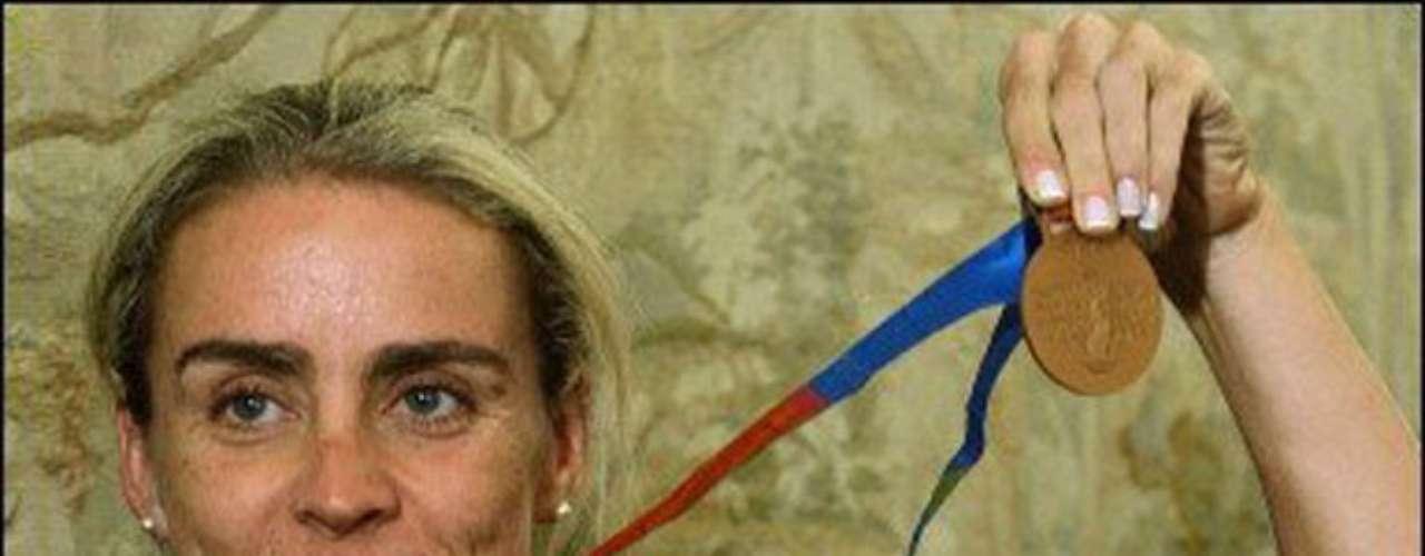 Entre las Celebridades también se encuentra la deportista María Luisa Calle.