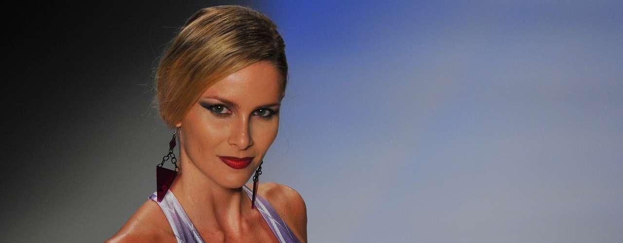 Desfile de la marca Triyah en Fashion Rio
