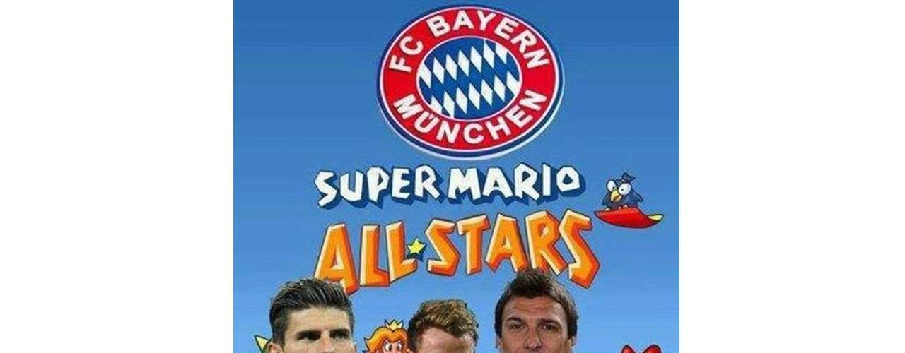 Super Mario Gomez and his friends used their special powers to beat Barcelona.