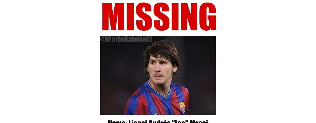 Barcelona and its fans keep looking for Messi who never showed up at the Allianz Arena.