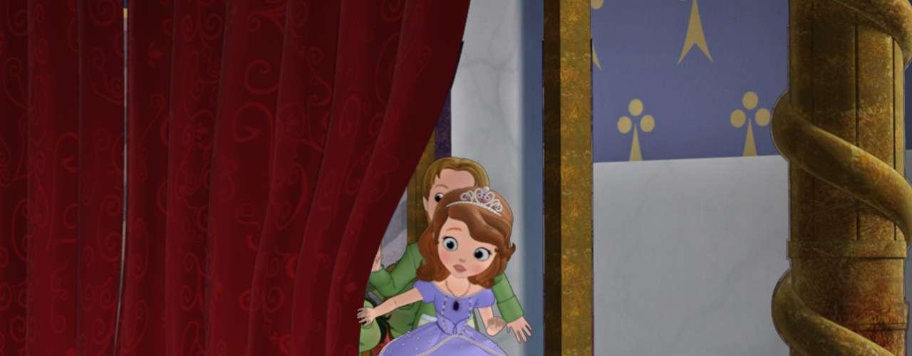 'Princesita Sofía', la nueva serie de Disney Junior, es la primera que se enfoca en la vida de una princesa como niña pequeña.
