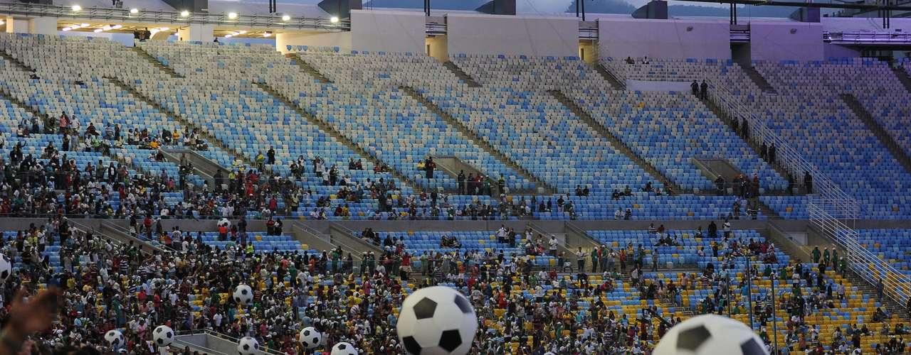 Según las autoridades de Río de Janeiro, el acto y el partido fueron una \