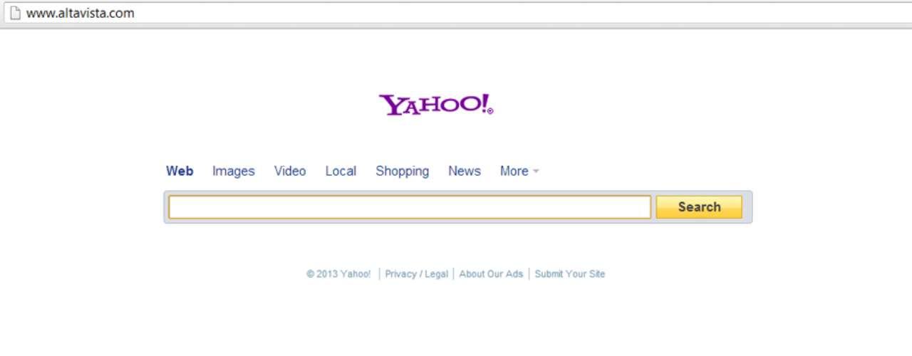 AltaVista alcanzó la fama gracias a una interfaz minimalista y por un mecanismo de indexación innovador para su época. Dos años después de su lanzamiento, el sitio contaba con 80 millones de visitas al día. Sin embargo, una estrategia no funcionó: transformar el sitio en un portal y desviar el enfoque de las búsquedas. Sumado a eso, la burbuja de internet de la década de 2000 y la entrada Google en el segmento llevaron el sitio a la bancarrota.