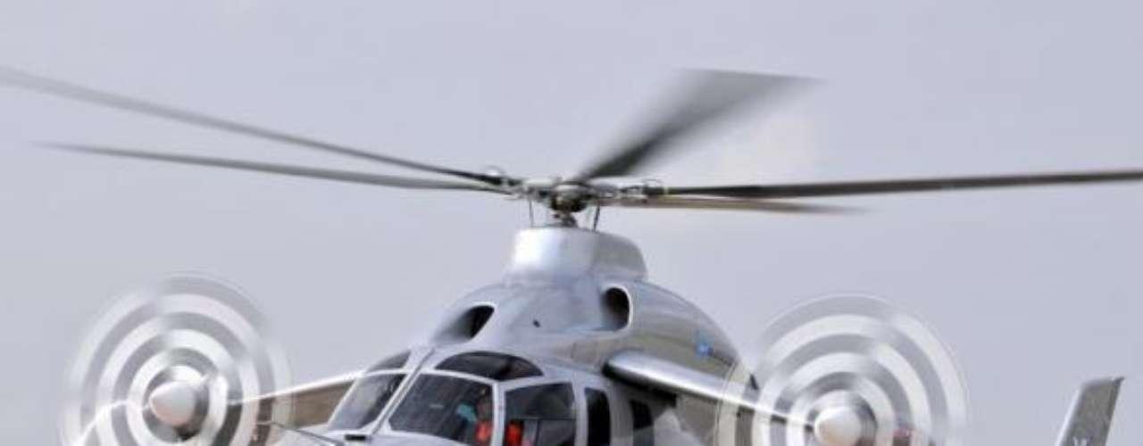 X3, helicóptero híbrido de alta velocidad de Eurocopter.