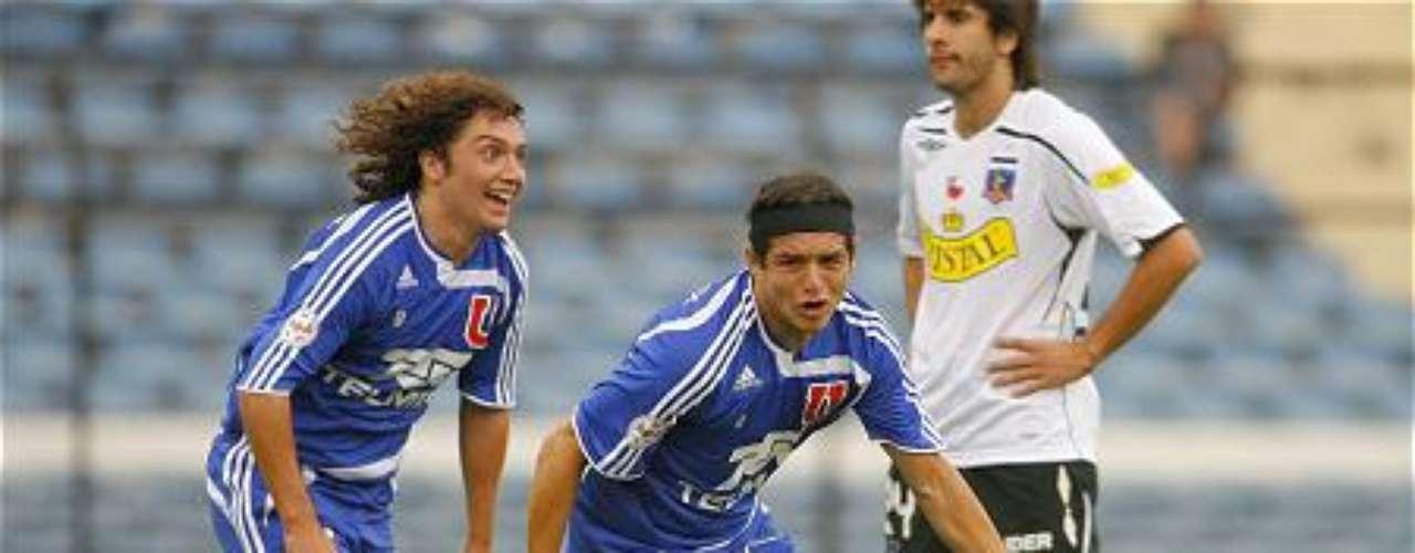 Para el Apertura del 2008 y ante cerca de 30.000 espectadores, la U se impuso por la cuenta mínima con gol de Manuel Villalobos a los 32 de juego.