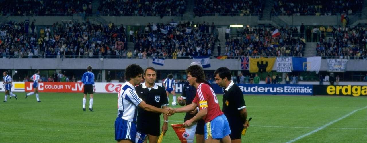 En 1987 Porto enfrentó a Bayern Munich en la Final de la Copa de Europa