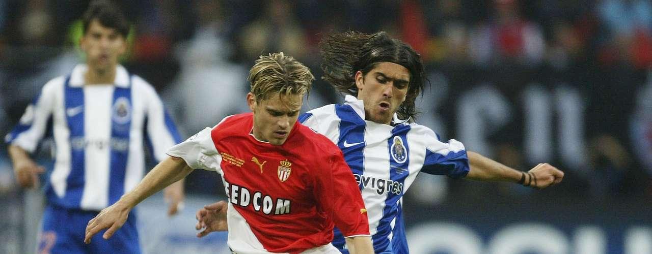 Porto se enfrentó al Mónaco en la final de la Champions Leaguedel 2004