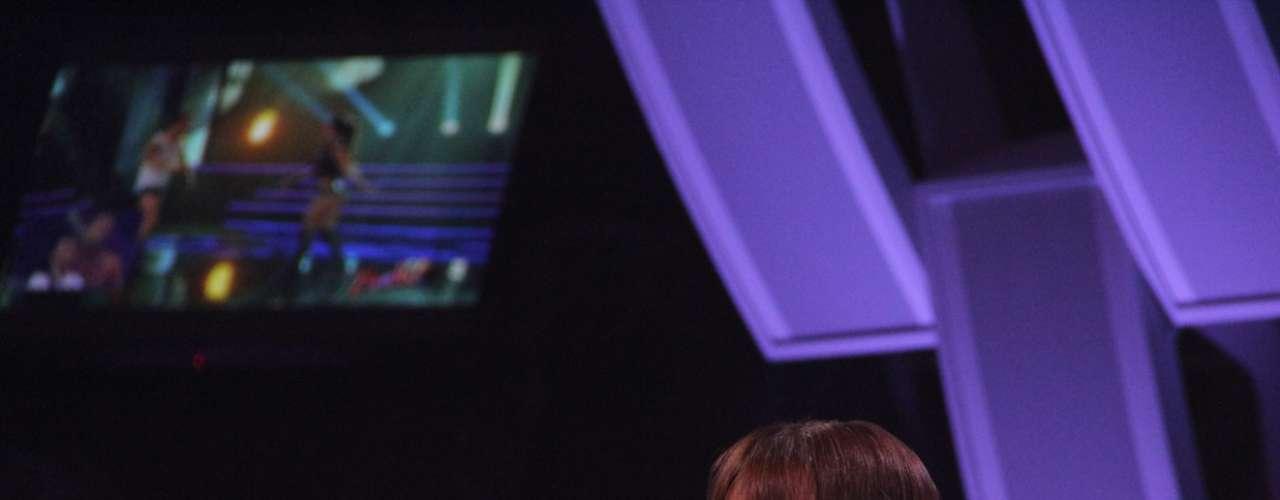 El argentino otra vez quedó completamente desnudo sobre el escenario de 'Baila! Al ritmo de un sueño', el estelar de Chilevisión que conduce Cristián Sánchez. Revisa las mejores postales del stripdance del hombre que conquistó a Pamela Díaz ¡Mira!