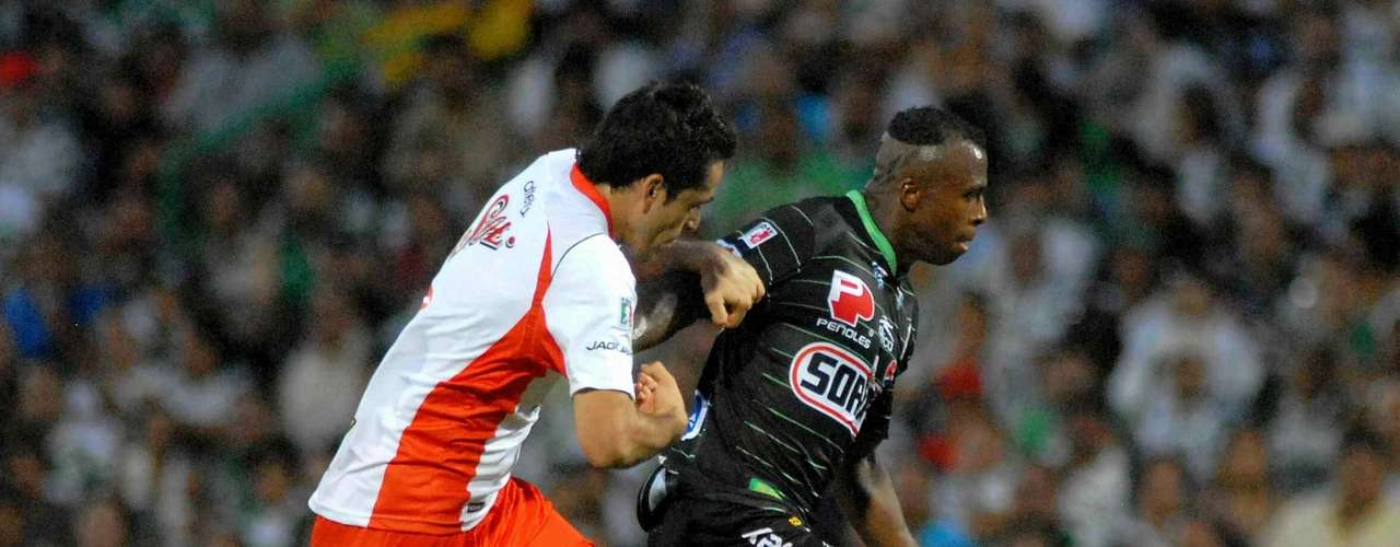 En la cuarta jornada, Santos derrotó 1-0 a Jaguares gracias a él.