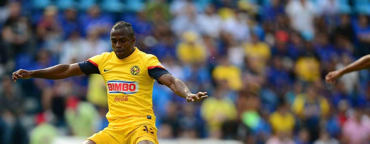 En la nueve, adelantó a las 'Aguilas' en el estadio Azul, merced de dejar en el césped a Luis Amaranto Perea en un \