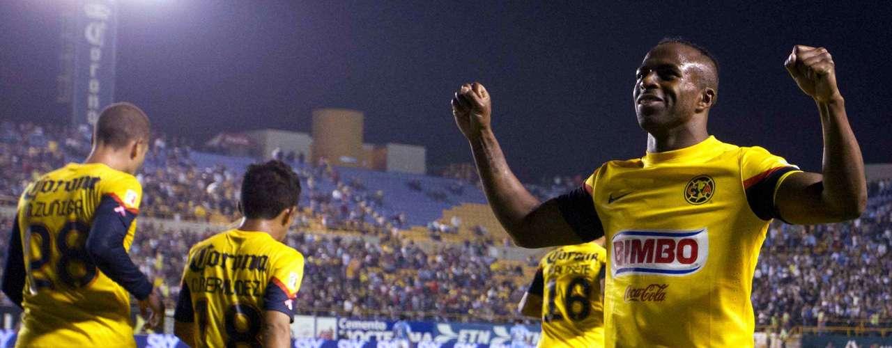 En la 11, realizó otro en el triunfo de visita contraSan Luis (1-2).
