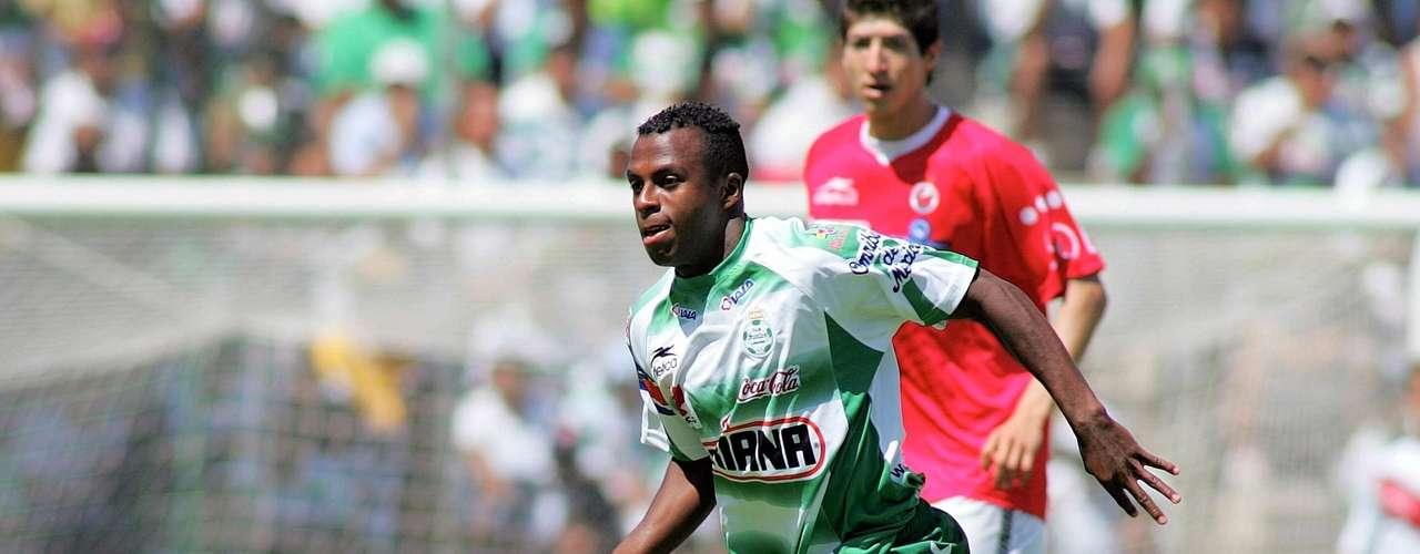 Benítez marcó 31 goles en su primera etapa con Santos Laguna.