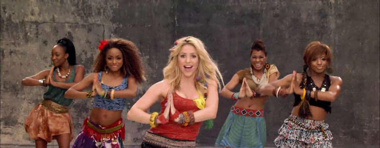 El video 'Waka Waka (This Time for Africa)' superó los 500 millones de reproducciones, uno de los más vistos de la historia de YouTube.