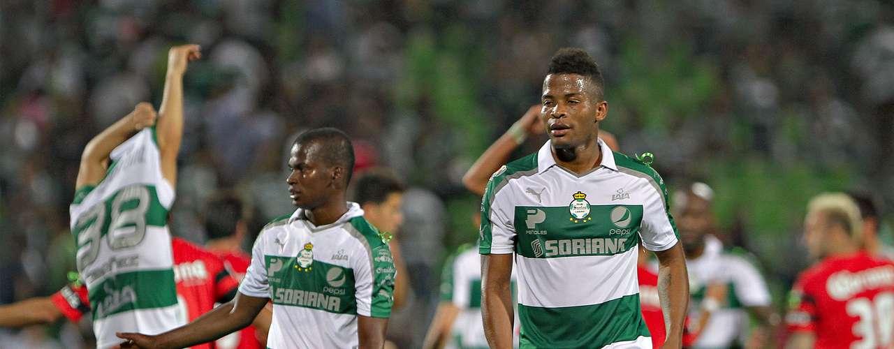 Santos perdonó al Atlas y terminaron sin goles en el duelo en Torreón