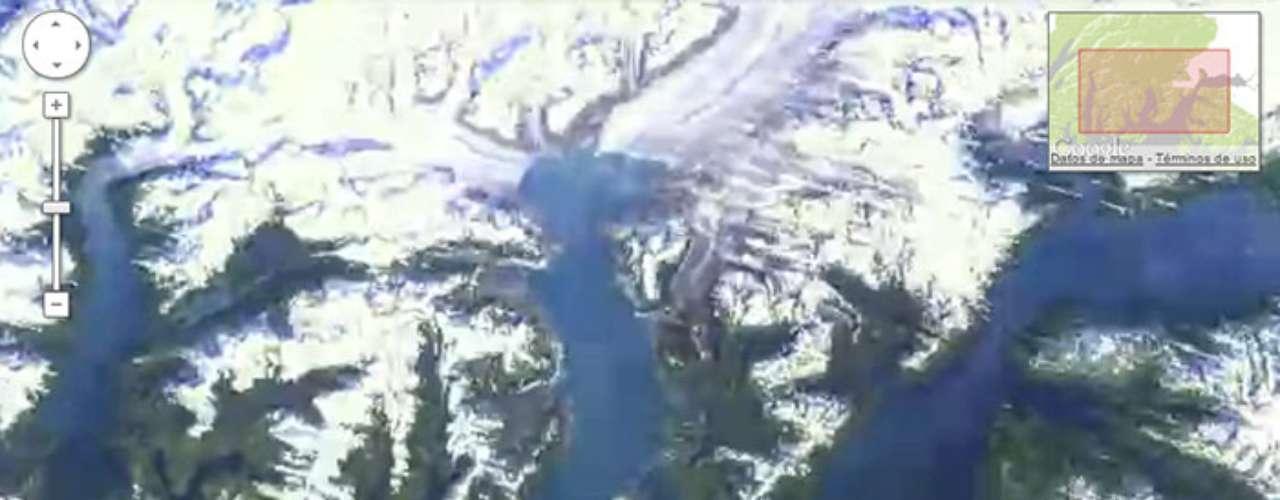 El cambio climático es tangible en esta zona de Alaska, donde el imponente glacial Columbia a perdido casi el 100% de su volumen de antaño.