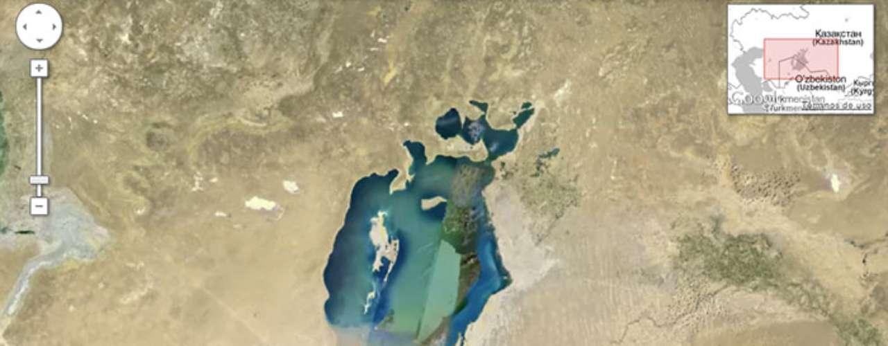 Por medio de la nueva herramienta Google Earth Engine, en conjunción con la NASA, se puede apreciar los drásticos cambios que han sufrido diferentes ubicaciones alrededor del mundo.1.-La drástica disminución del Mar Aral