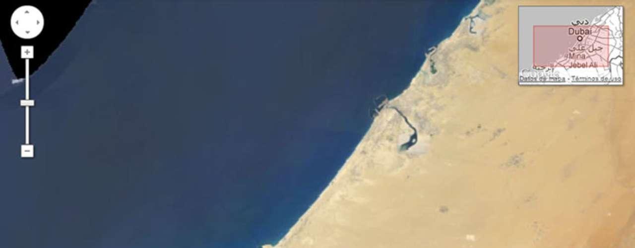 2.- La expansión de la costa de Dubai.
