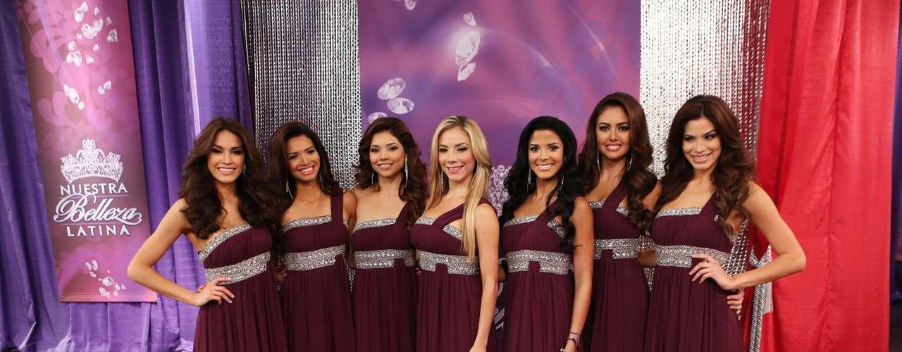 Tras la eliminación de Bárbara Falcón y Odaray Prats, ahora son Marina Ruíz, Bárbara Turbay, Viviana Ortíz, Marisela Demontecristo y Audris Rijo son las chicas que se disputan la corona de la Latinas más hermosa y talentosa del 2013.