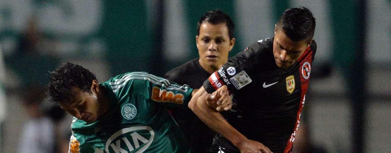 El gol de Xolos cayó por un error del portero Bruno y Riascos festejó el tanto que puso en ventaja al equipo azteca.