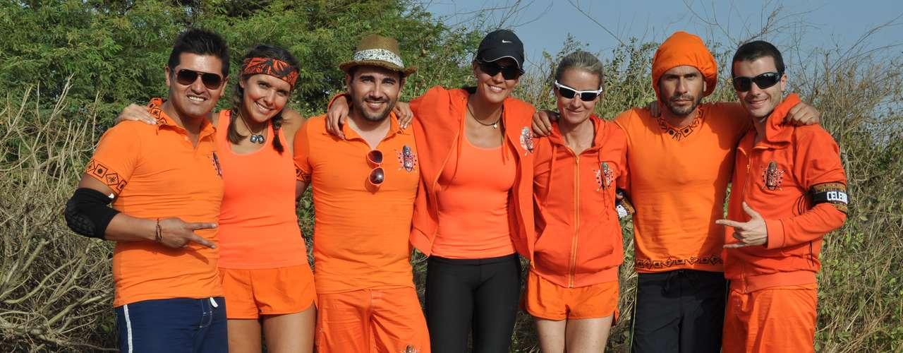 Un grupo de famosos, entre ellos deportistas, actores y humoristas, se le midieron al reto de participar en El Desafío.