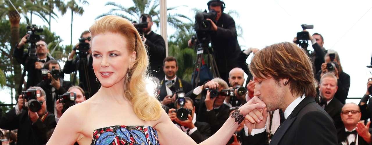 Nicole Kidman, miembro del jurado del Festival de Cine de Cannes 66a, asistió al estreno de 'Inside Llewyn Davis', acompañada de su marido, Keith Urban.