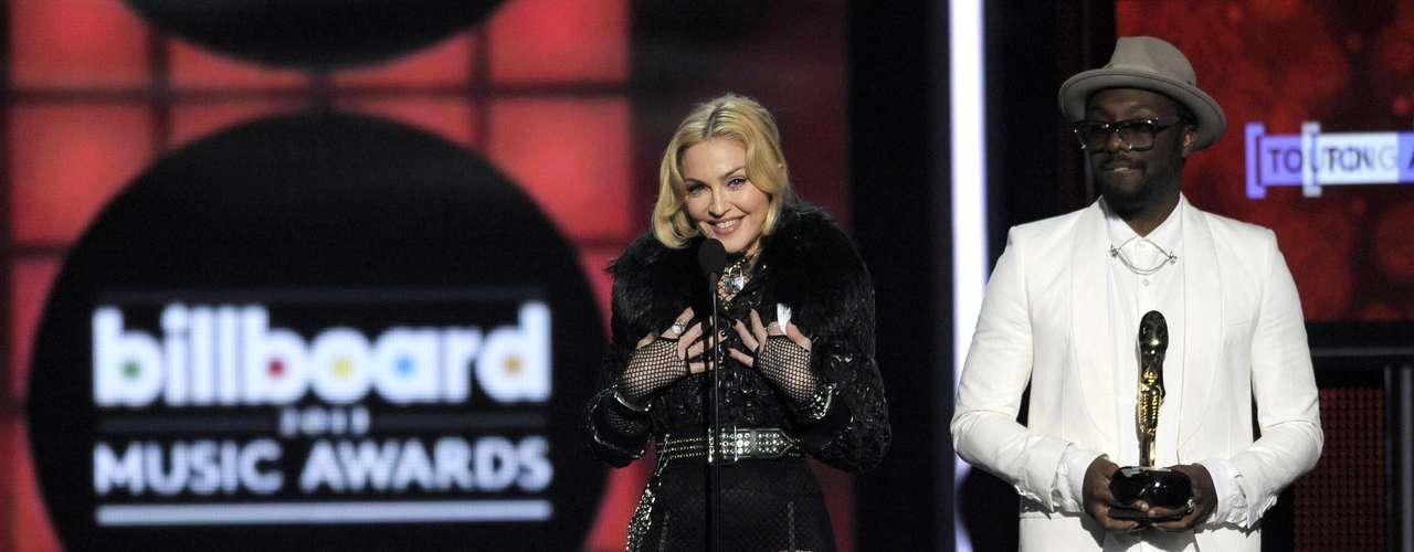El discurso de Madonna fue un poco raro y poco convencional....